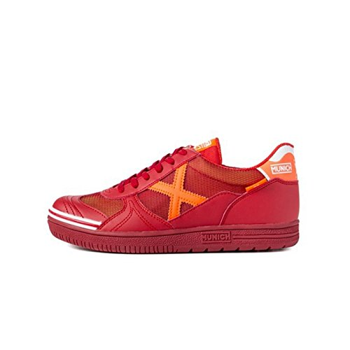 Stivali Munich G3Rosso/Arancione suola Lisa, rosso rosso