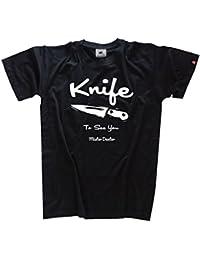 Shirtzshop T Shirt Famous Movie Knife To See You Mr Dexter