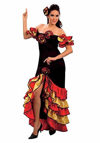 Mr.Giggelz Spanische Tänzerin Kostüm (Spanische Tänzerin Kostüm)