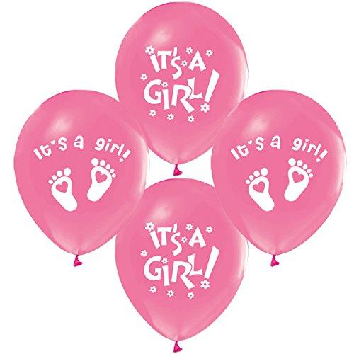 Its a Girl Luftballons, Babyshower, Babyparty, Geburt, Babyparty, Pullerparty, Itsagirl, Bebek