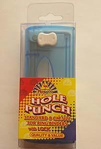 Perforatrice avec serrure Idéal pour classeurs à anneaux