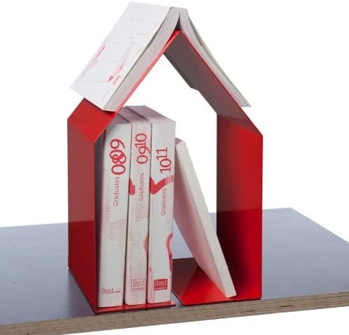 Pa Livres Design - Serre Livres Pa Domus Rouge 78b7fd