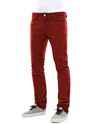 Reell Skin Jean wine red/rouge