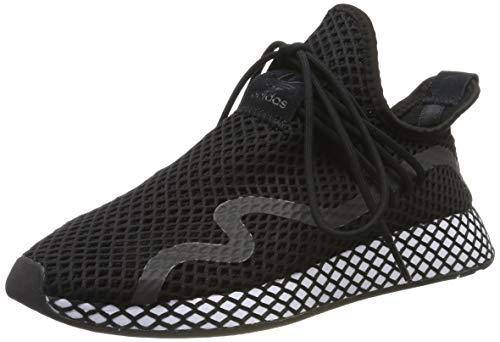 adidas Herren Deerupt New Runner Sneaker, Schwarz Core Black/Footwear White 0, 45 1/3 EU