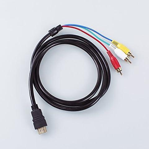 A-szcxtop ™ óptico para Xbox 360adaptadores de audio RCA cable HDMI GA82