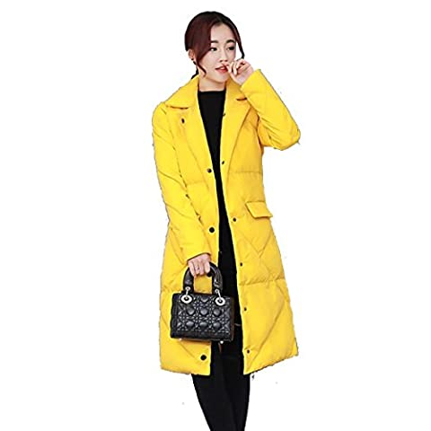 Nihiug Cotton Long Winter Ladies Coréenne Warm Loose Coat Ladies Down Jacket Light Fashion Hooded Luxurious,C-XL