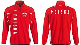 Polen Sport Pullover rot SWEATER Trikot look EM 2016 –