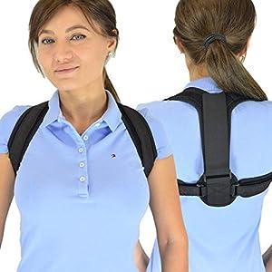 BakkuHira 2.0 – Geradehalter zur Haltungskorrektur gegen Rückenschmerzen, Schulterschmerzen und Nackenschmerzen. Haltungsbandage, Rückenbandage, Rückenstütze für Männer und Frauen
