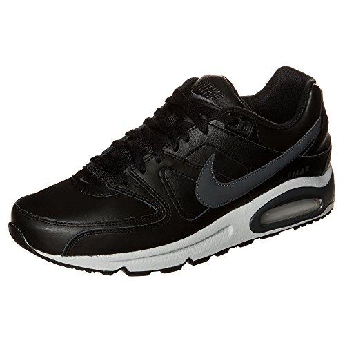 Nike  Air Max Command Leather, Chaussures pour le sport et les loisirs en extérieur homme Multicolore - mehrfarbig (Black/Anthracite-Neutral Grey)