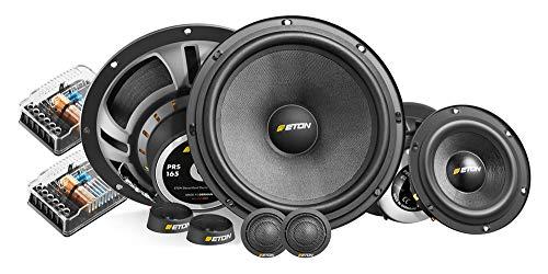 Eton PRS 165.3-16,5cm 3-Wege-Kompo-Lautsprechersystem - Lautsprecher mit 4 Ohm, 70 Watt RMS Nennleistung und Glasfaserpapiermembrane Rms 4 Ohm Auto