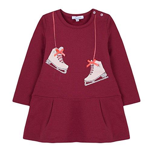 Absorba Boutique Baby-Mädchen Kleid 9M30054 Pink (Rose Grenade 35) 12-24 Monate (Herstellergröße: 12M)