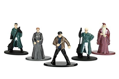 Jada Nano Metalfig Figuras de Harry Potter de pequeño tamaño, Paquete de 5 Unidades:Paquete de 2 Unidades (Harry… 4