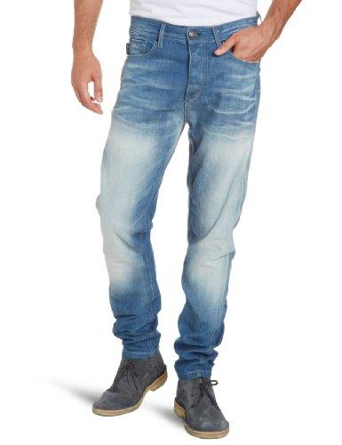 JACK & JONES Herren Jeans Normaler Bund 12060934 Erik Original BL 121 Blau (BL 121)