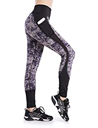a55d52bb588772 EAST HONG Women's Yoga Leggings Exercise Workout Pants Gym Tights