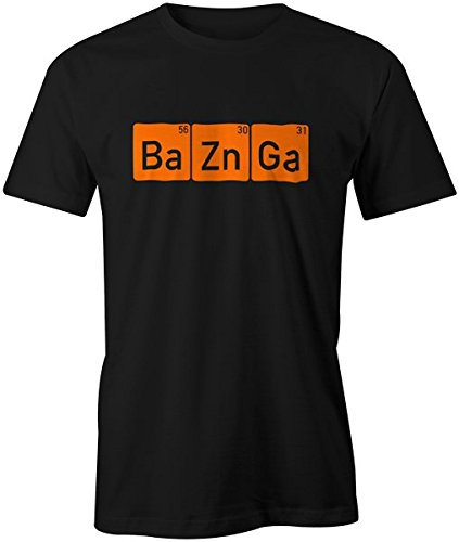 Ba Zn Ga (Bazinga) The Big Bang Theory Sheldon Cooper Geek Funny Joke Mens T-shirt