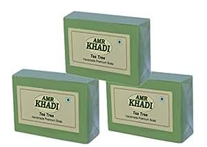 Khadi AMR Tea Tree Soap 375gm Pack of 3