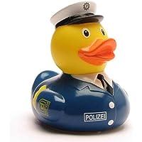 Preisvergleich für DUCKSHOP I Badeente Polizist I Quietscheente I L: 7,5 cm