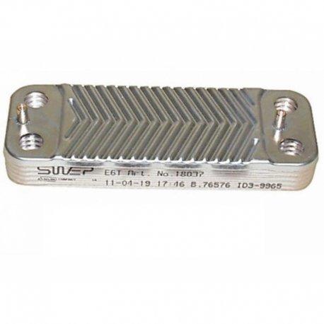 Intercambiador placas caldera Saunier duval S10058