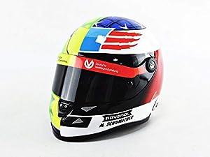 Mini Helmet- Coche Miniatura Collection, 9087001225, Amarillo/Verde