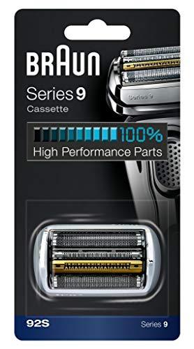 Lange Appliance (Braun Elektrorasierer Ersatzscherteil 92S, kompatibel mit Series 9 Rasierern, silber)