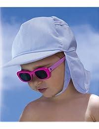 Fashy 3914 Baby Schildkappe mit Nackenschutz