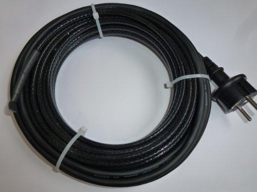 Bio Green Frostschutz-Heizkabel, schwarz, 10 m, 100 Watt