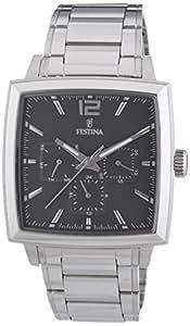 Festina - F16783/3 - Montre Homme - Quartz - Chronographe - Bracelet Acier Inoxydable Argent