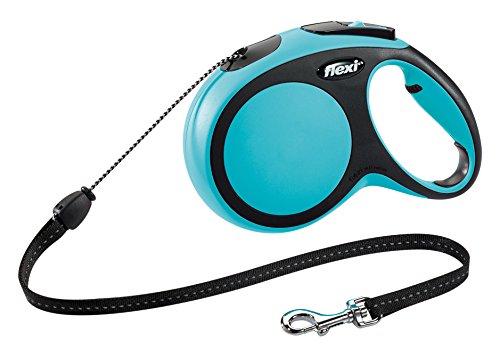 Flexi-New-Comfort-Retractable-Cord-Lead-Medium-8-m-Blue