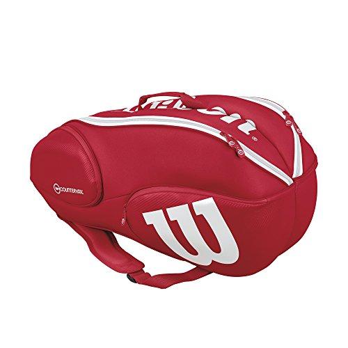 Wilson Tennis-Rucksack Pro Staff 9 Pack Rot (500) 9