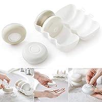 Artwarm 4pcs/set Portable Liquid Soap Dispenser Travel Shampoo Bottle Lotion Container