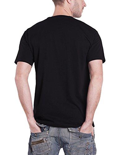 Panic at the Disco T Shirt Flower Head Case Band Logo offiziell Herren Nue Schwarz