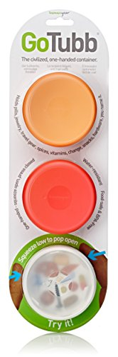 humangear-gotubb-food-safe-storage-containers-medium-clear-orange-red-3-pack
