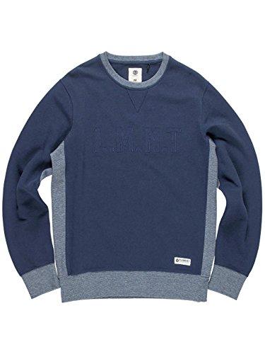 Herren Sweater Element Alec Sweater Indigo