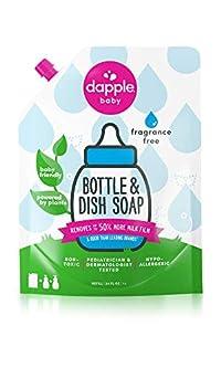Dapple Refill Pack Baby Bottle & Dish Liquid - Fragrance Free - 34 oz