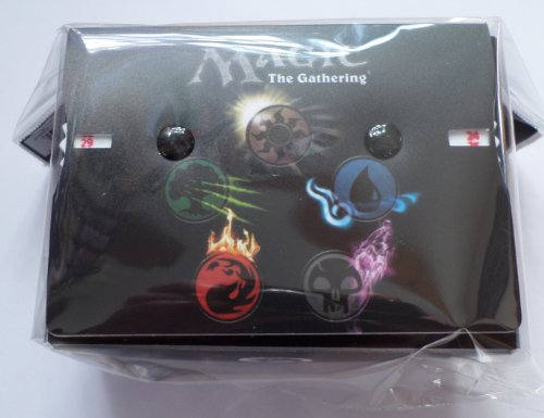 ULTRA PRO DECK BOX - MAGIC MANA 4 SYMBOLS WITH LIFE COUNTERS - MAGIC: THE GATHERING