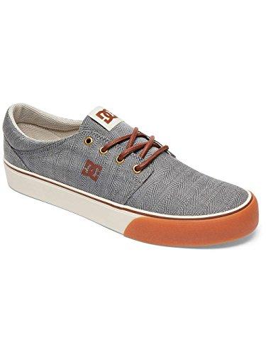 DC Shoes Trase Tx Se, Baskets mode homme Gris - Grey/Black