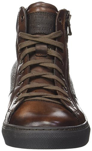 Redskins Nerinel, Baskets Hautes Homme Marron (COGNAC+MARRON)
