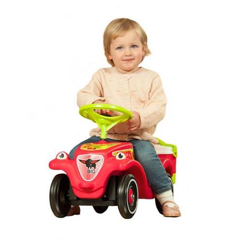 BIG Bobby Car Classic Cherry Girl - Kinderrutscher Kinderfahrzeug Rutschfahrzeug - 3