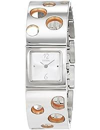 Guess Damen-Armbanduhr Analog Quarz Edelstahl I85561L1