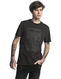 Amplified Metallica The Black Album Crew Neck T-Shirt