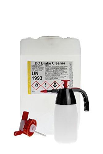 Preisvergleich Produktbild Bremsenreiniger 10 Liter Kanister + Auslaufhahn + Pumpsprüher - DC Brake Cleaner