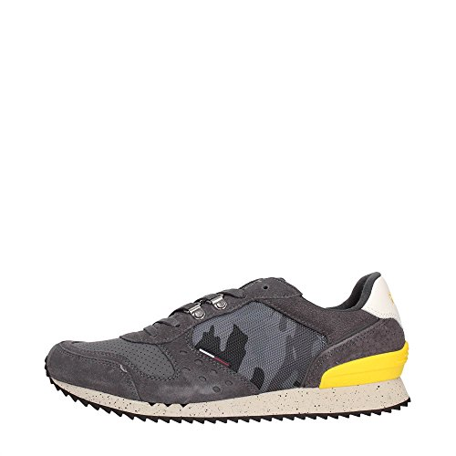 Tommy Hilfiger EM56821451 Sneakers Uomo Tessuto MAGNET MAGNET 45