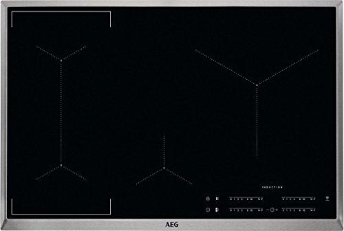 AEG IKE84445XB Induktionskochfeld autark Hob²Hood-Funktion Bridge-Funktion XL-Paella-Zone SlimFit-Design 80cm