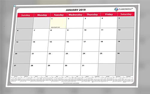 2019 Wall Calendar, Monthly Plan...