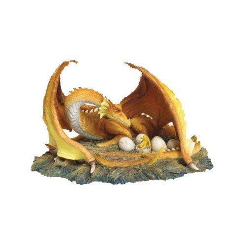 Nemesis Now - Figura de dragón con huevos