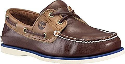 Timberland Classic Boat 2 Eye POTTING SOIL, MAN, Size: 39.5 EU (6.5 US / 6 UK)