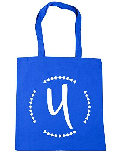 hippowarehouse-bolsa-de-playa-de-algodon-mujer-azul-azul-13567-tote-cornflower-blue