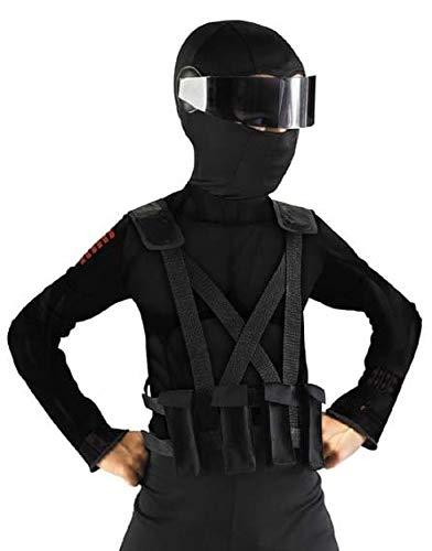 GI Joe Movie Snake Eyes Child Costume Combat Vest & Holster