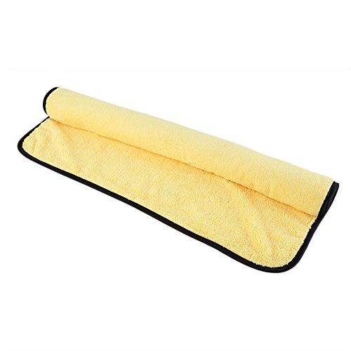 Sprigy-TM-giallo-panno-assorbente-in-microfibra-lavaggio-auto-auto-pulizia-asciugamani-92-cm-x-56-cm-vendita-caldo