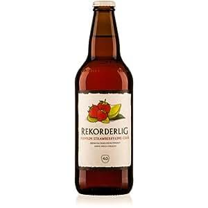Rekorderlig - Strawberry & Lime - Premium Swedish Cider - 15x500ml Glass Bottle Case